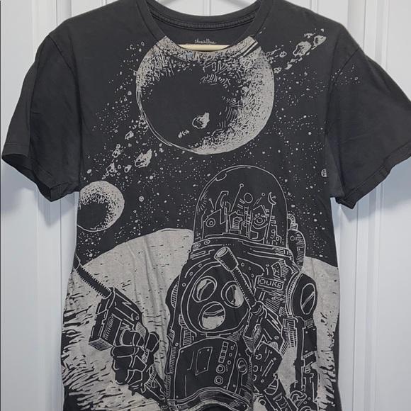 Threadless duke of the moon T-shirt - medium